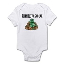Funny Buddha belly Infant Bodysuit