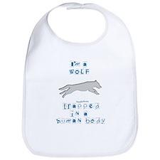 I'm a Wolf Bib