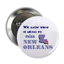 """I Miss New Orleans 2.25"""" Button (100 pack)"""