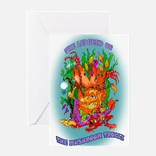 MUSHROOM TROLL Greeting Card