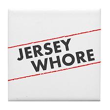 Jersey Whore Tile Coaster