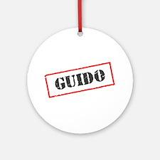 Guido Ornament (Round)