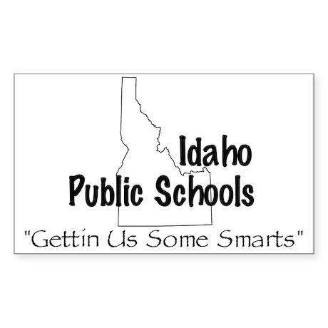 Idaho Schools Sticker (Square)