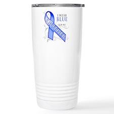 I Wear Blue for my Brother Travel Mug