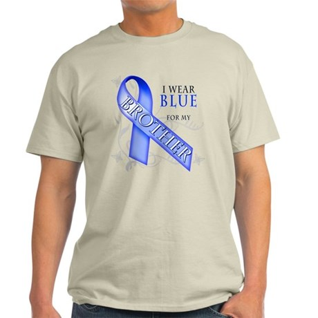 I Wear Blue for my Brother Light T-Shirt