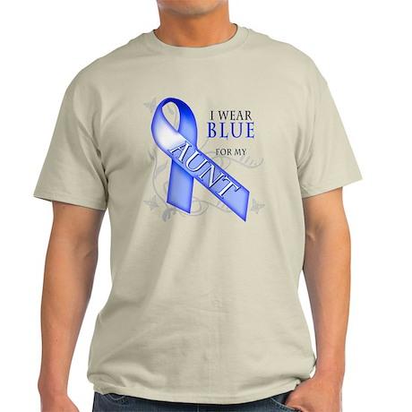 I Wear Blue for my Aunt Light T-Shirt