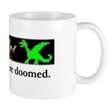 These Guys Are Doomed Small Mug