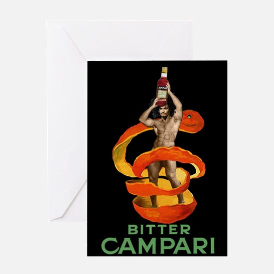 bitter campari Greeting Cards