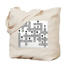 WINES SCRABBLE-STYLE Tote Bag