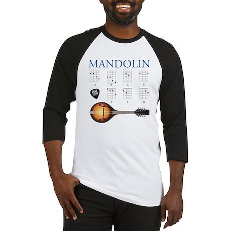 Mandolin 7 Chords Baseball Jersey
