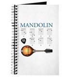Mandolin Journals & Spiral Notebooks