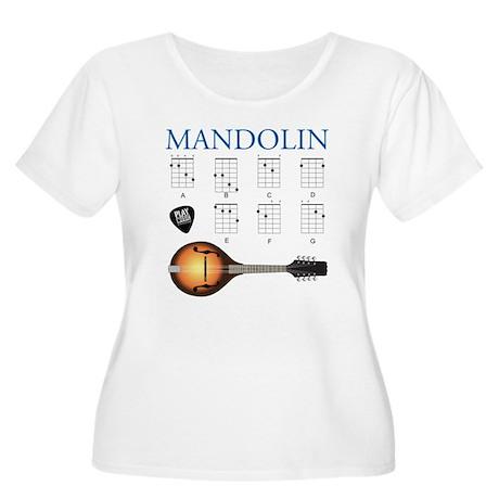 Mandolin 7 Chords Women's Plus Size Scoop Neck T-S