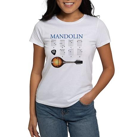 Mandolin 7 Chords Women's T-Shirt