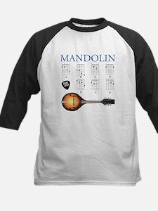 Mandolin 7 Chords Kids Baseball Jersey
