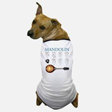 Mandolin 7 Chords Dog T-Shirt