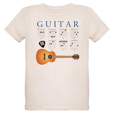 Guitar 7 Chords Organic Kids T-Shirt