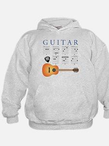 Guitar 7 Chords Hoodie