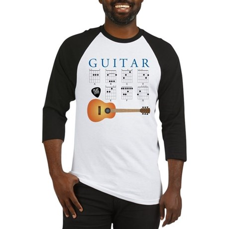 Guitar 7 Chords Baseball Jersey