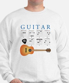 Guitar 7 Chords Sweatshirt