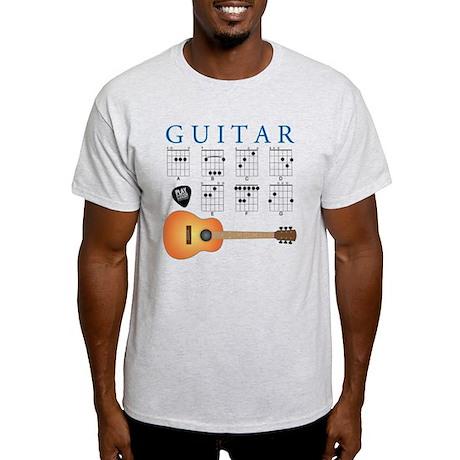 Guitar 7 Chords Light T-Shirt