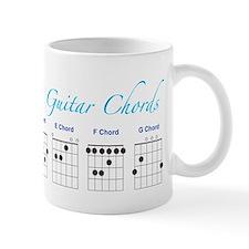 Guitar 7 Chords Mug