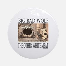 THE OTHER WHITE MEAT Ornament (Round)