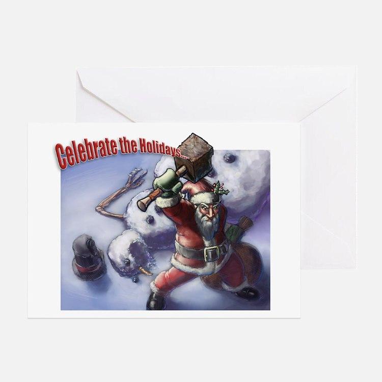 "+2 Hammer of ""Holiday Joy"" Card (Single"