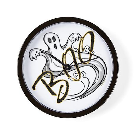 Boo Ghosts Wall Clock