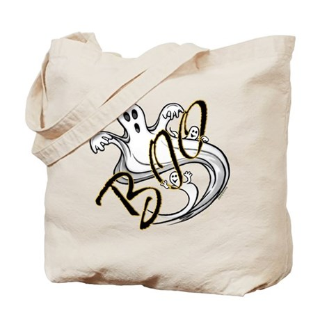 Boo Ghosts Tote Bag