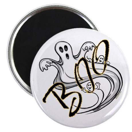 """Boo Ghosts 2.25"""" Magnet (100 pack)"""