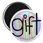 """You Are The Gift 2.25"""" Magnet (100 pack)"""