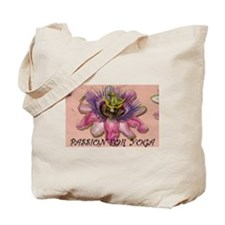 Passion for Yoga Tote Bag