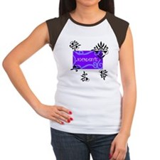 """Namaste"" Women's Cap Sleeve T-Shirt"