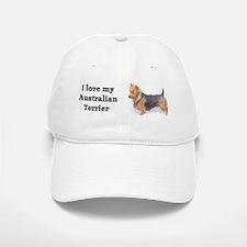 """""""I Love My Australian Terrier"""" Baseball Baseball Cap"""