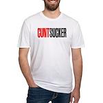 CuntSucker Fitted T-Shirt