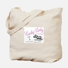 Lucky Lady Lounge Tote Bag