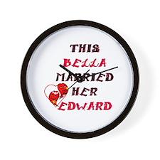 Funny Twilght Wall Clock