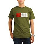 CuntSucker Organic Men's T-Shirt (dark)