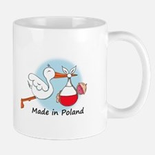 Stork Baby Poland Small Small Mug
