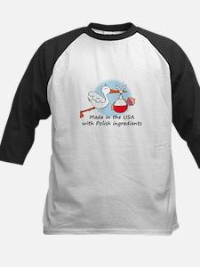 Stork Baby Poland USA Tee