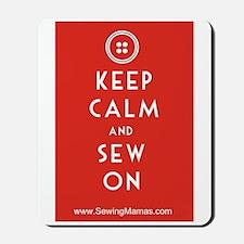 Sewing Mama Sew On Mousepad