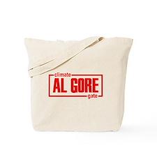 Al Gore Climate Gate Tote Bag