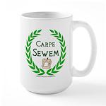 Carpe Sewem Large Mug
