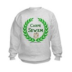 Carpe Sewem Kids Sweatshirt
