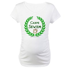 Carpe Sewem Maternity T-Shirt