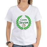 Carpe Sewem Women's V-Neck T-Shirt