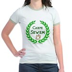 Carpe Sewem Jr. Ringer T-Shirt
