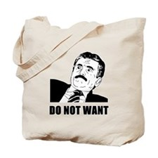Massimo Does Not Want Tote Bag