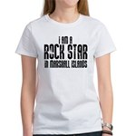 Rock Star In Marshall Islands Women's T-Shirt