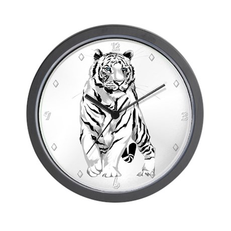 Standing Proudly Wall Clock
